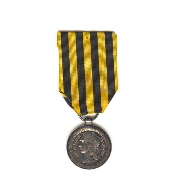 Dahomey medal 1892 very scarce(L26204)  G.V.F. £145 1