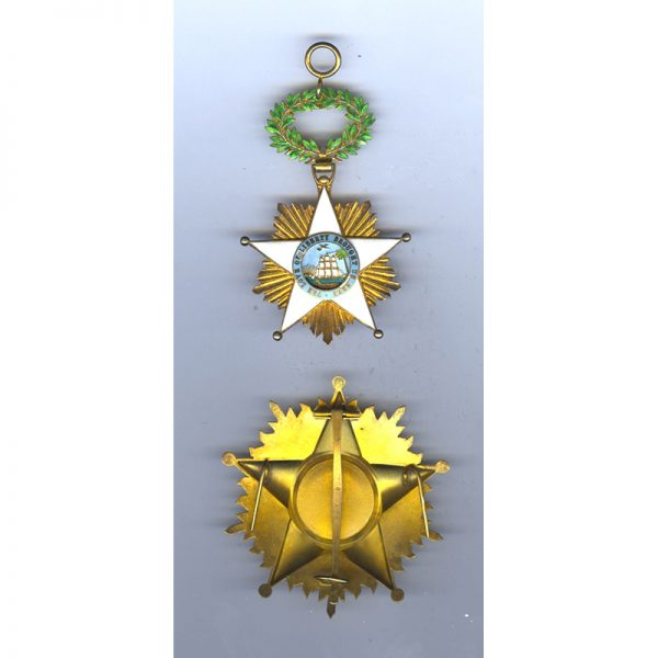 Order of Africa Redemption  Grand Cross Breast Star 2