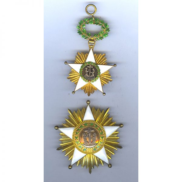 Order of Africa Redemption  Grand Cross Breast Star 1