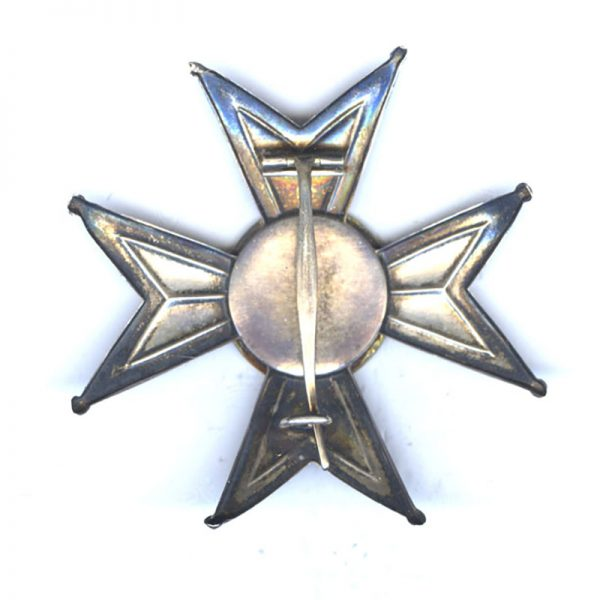 Order of the Sword Grand Officer breast star early issue with light... 2