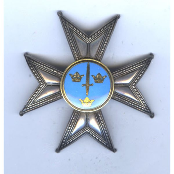 Order of the Sword Grand Officer breast star early issue with light... 1