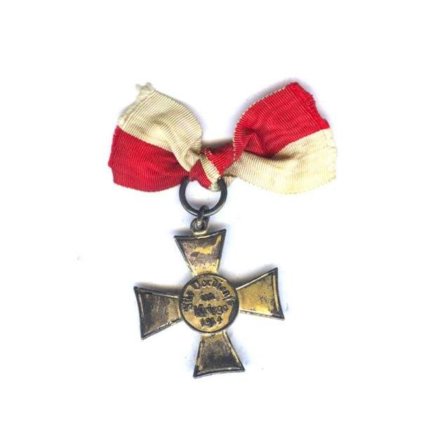 Lubeck  Cross silvered 2