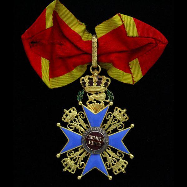 House order of Henry the Lion  Commander neck badge in gold 2
