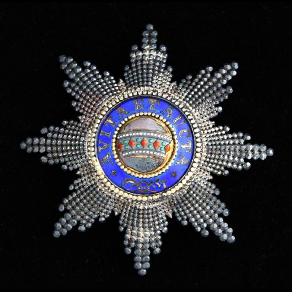 Order of the Iron Crown Grand Cross breast star superb quality and... 1