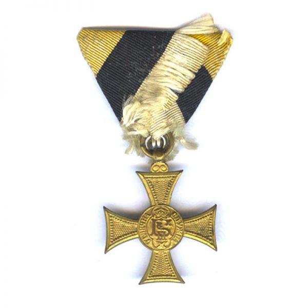 Military Long Service Cross Boris III 1