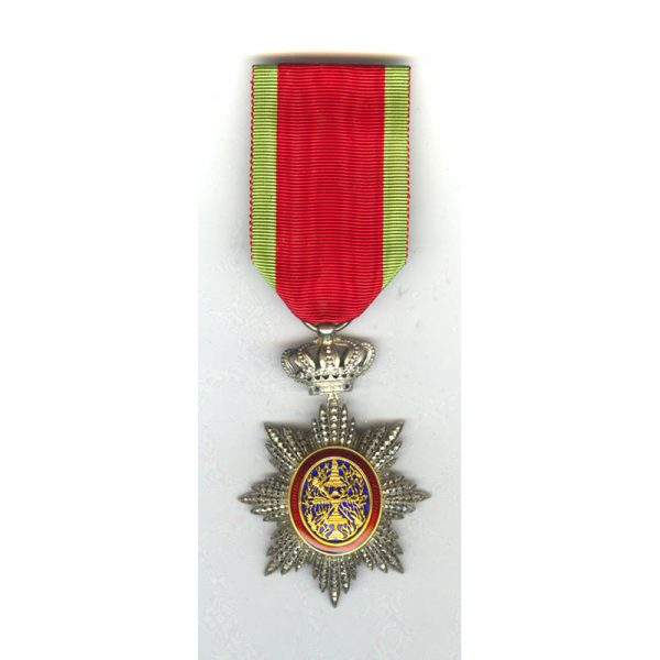 Order of Cambodia Knight  with gold centre 1