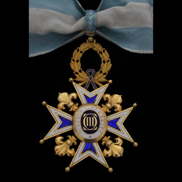 Order of St. Michael Knight 4th class 1st type with rays 1855-1887... 2