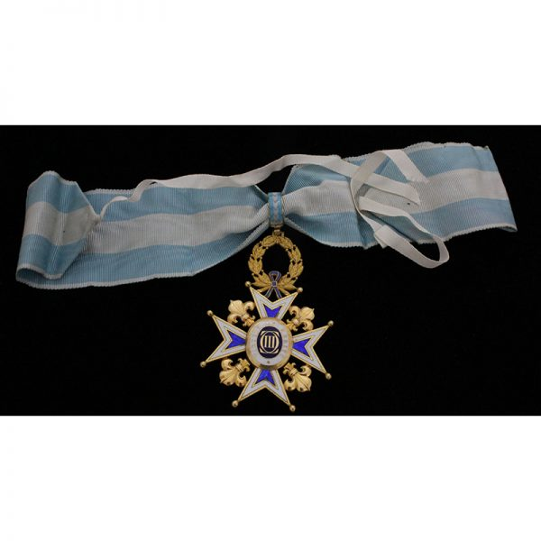 Order of St. Michael Knight 4th class 1st type with rays 1855-1887... 3