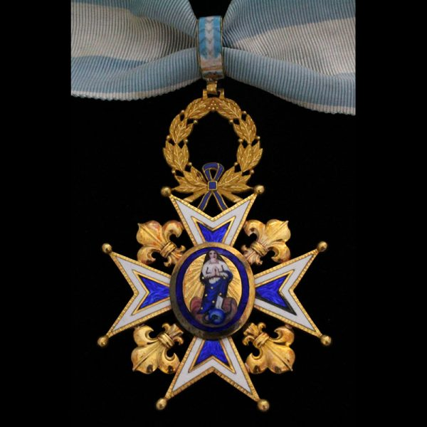 Order of St. Michael Knight 4th class 1st type with rays 1855-1887... 1