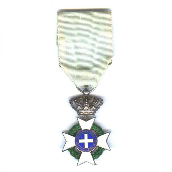 Cross of Merit R.P. With swords  Gold (gilt)(L26574)  G.V.F. £45 2