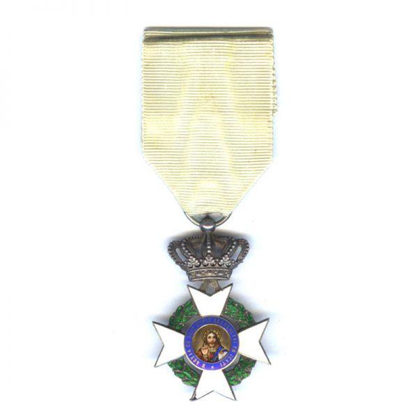 Cross of Merit R.P. With swords  Gold (gilt)(L26574)  G.V.F. £45 1
