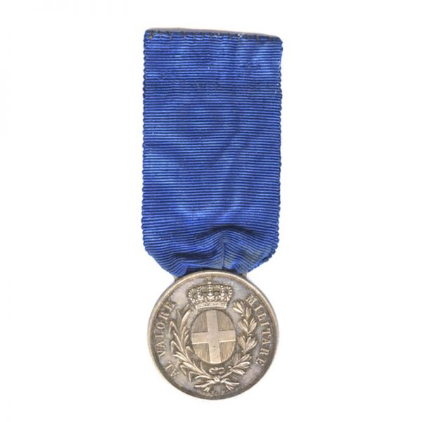 Al Valore Militare Guerre d'Italie 1859 silver 1