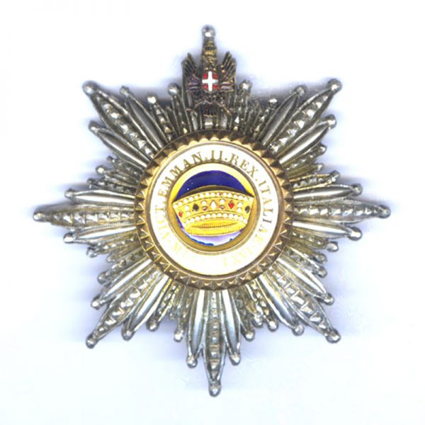 Order of the Crown Grand Cross breast star 	(L26642)  N.E.F. £495 1