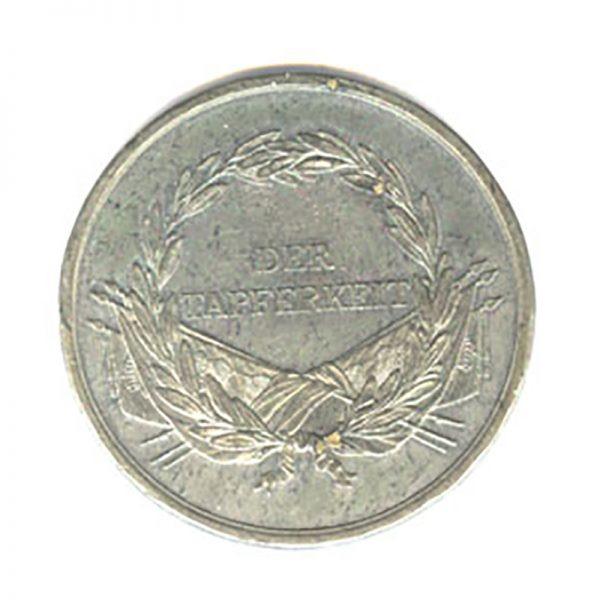Medal for Bravery Franz I 1804-1839  white metal 2