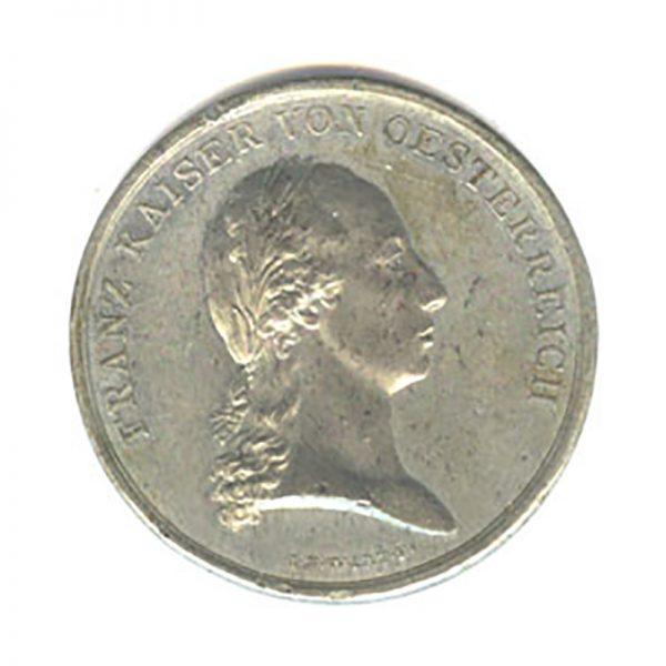Medal for Bravery Franz I 1804-1839  white metal 1