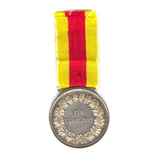 Civil Merit medal Freidrich I  large silver 1882-1908 2