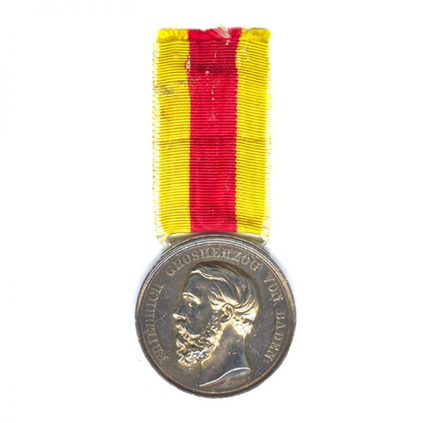 Civil Merit medal Freidrich I  large silver 1882-1908 1