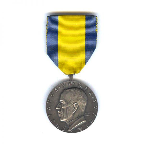 Gustav V Commemorative medal of the Swedish Pioneers 1848-1948 1