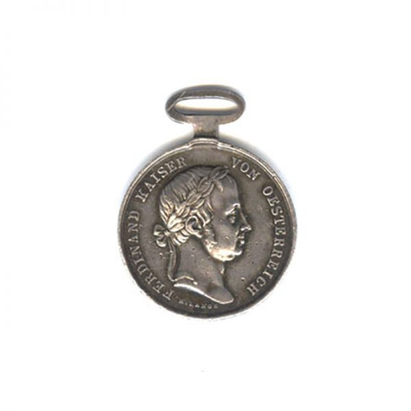 Medal for Bravery Franz I 1848-1849  small silver 1