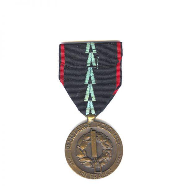 Polish Resistance in France medal 2