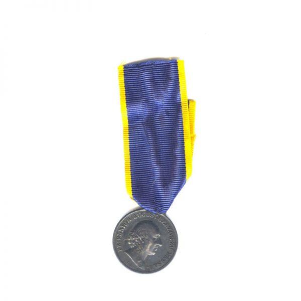 Nassau Waterloo medal 1