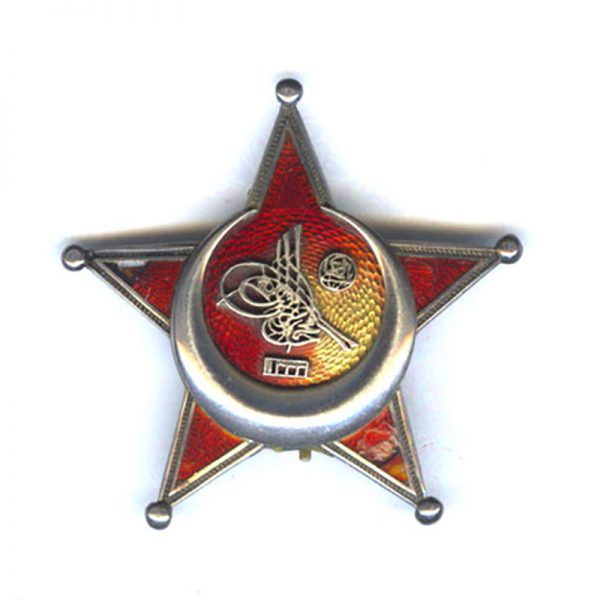 Gallipoli Star Officers German made star marked Silber on pin 1