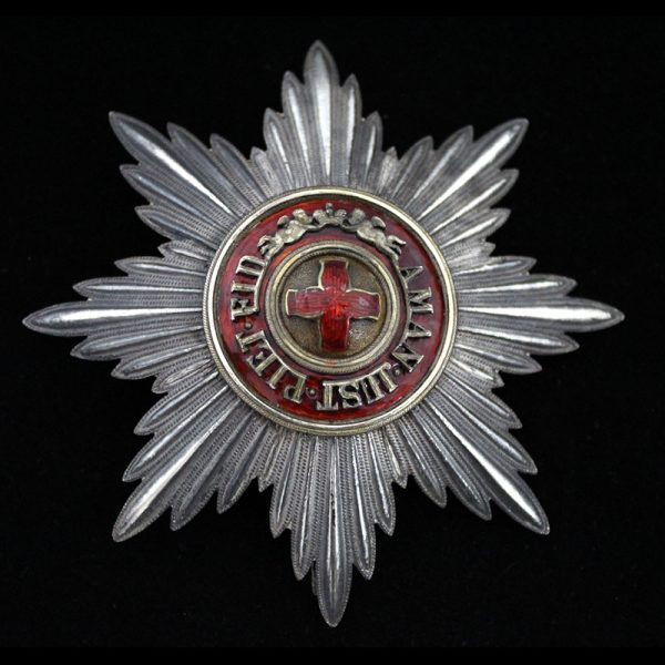 Order of St. Anne  Grand  Cross breast star 1