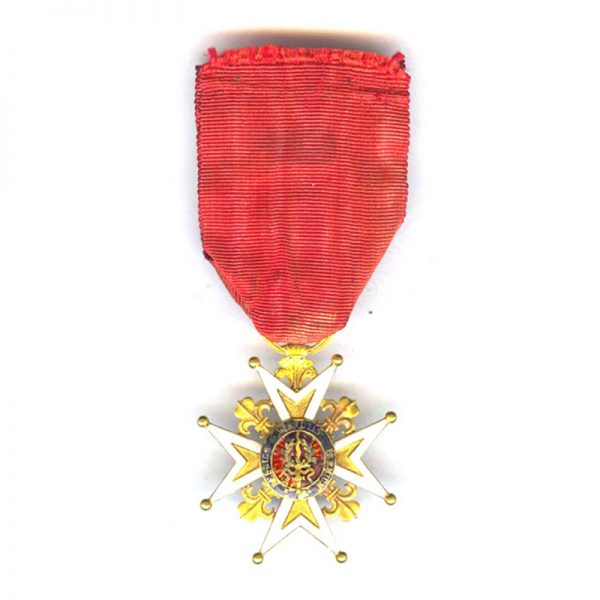 Order of St.Louis Knight in gold 2