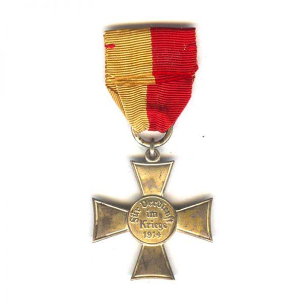 Lubeck  Cross silvered (L27660)  G.V.F. £165 2