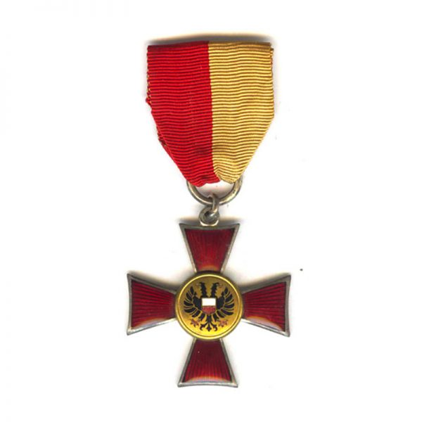Lubeck  Cross silvered (L27660)  G.V.F. £165 1