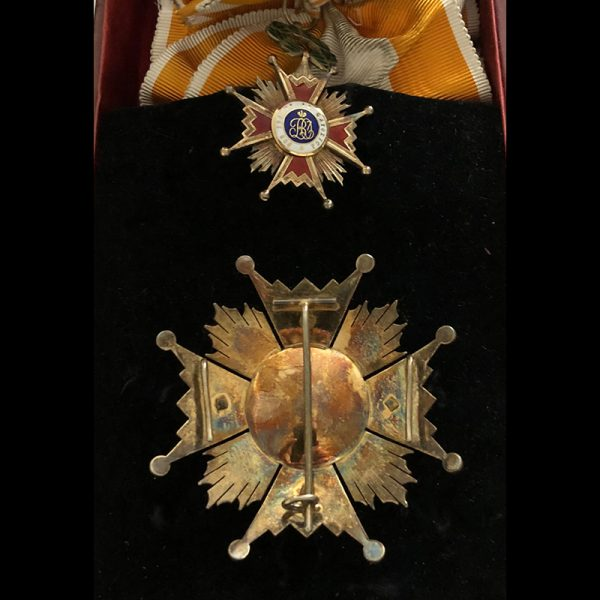 Order of Isabella the Catholic  Grand Cross set 1st type 2