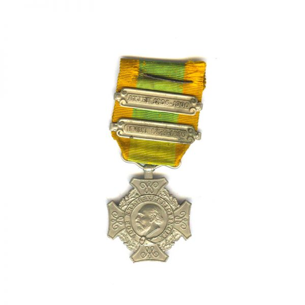 Expeditions Cross (Cross for Important Military Operations) 1st type   2 bars Atjeh... 1