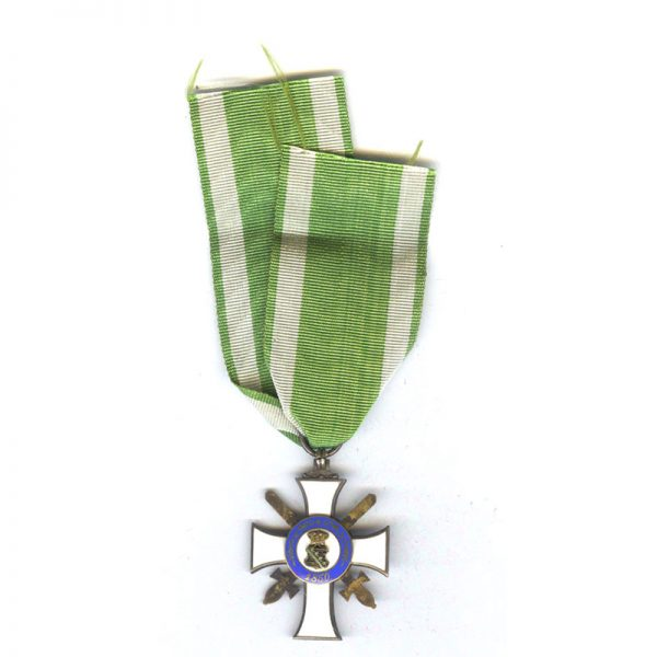 Order of Albert  Knight  2nd class  with Swords  silver gilt with S... 2