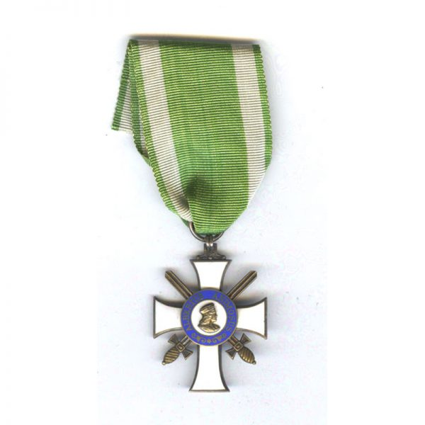Order of Albert  Knight  2nd class  with Swords  silver gilt with S... 1