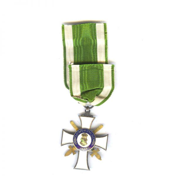 Order of Albert  Knight  2nd class  with Swords  silver gilt with G... 2