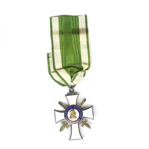 Order of Albert  Knight  2nd class  with Swords  silver gilt with G... 1