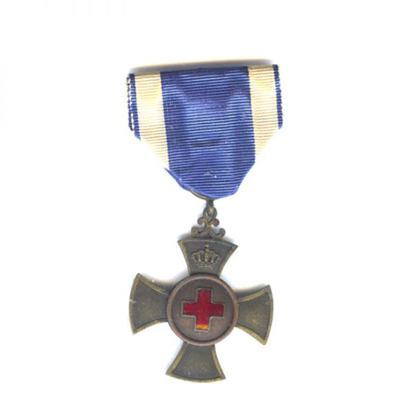 Red Cross Merit Cross for  Volunteer War Aid  1901-1918 1