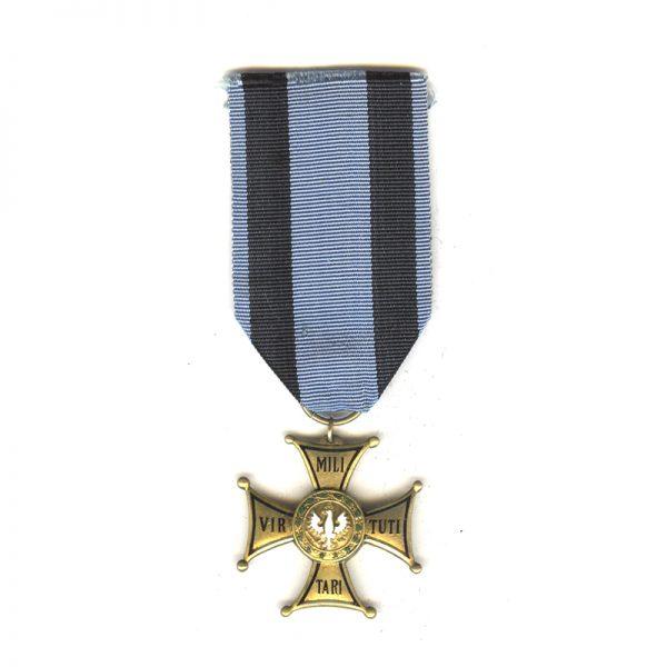 Order of  Virtute Militare 1918 4th  class badge 1