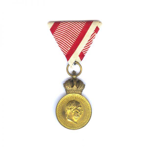 Military Merit Signum Laudis Franz Joseph 1