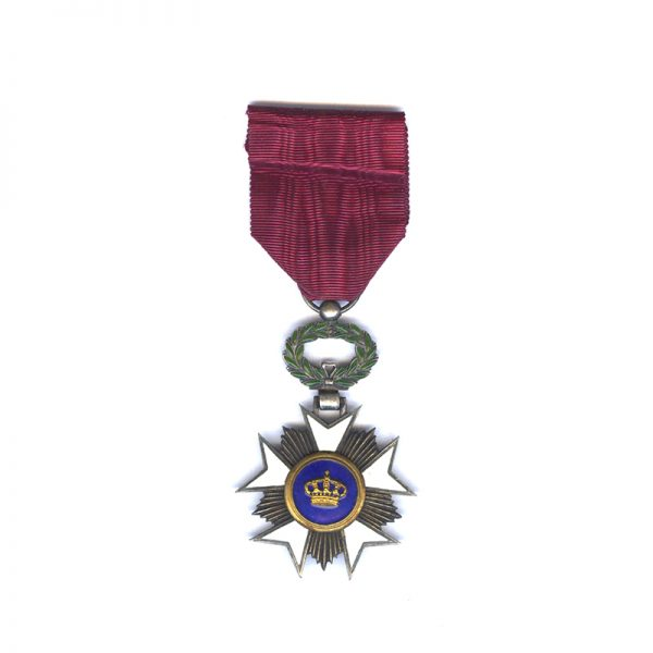 Order of the Crown  Knight silver gilt 	(L27969)  N.E.F. £30 1