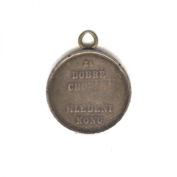 Medal for Good Horsemanship  Franz Joseph I 1859-1866 2