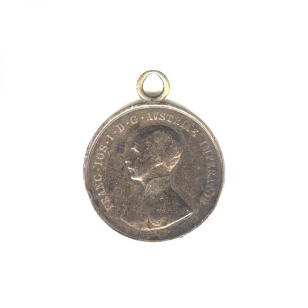 Medal for Good Horsemanship  Franz Joseph I 1859-1866 1