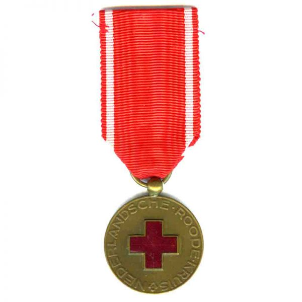 Red Cross Long Service medal 10 years 1