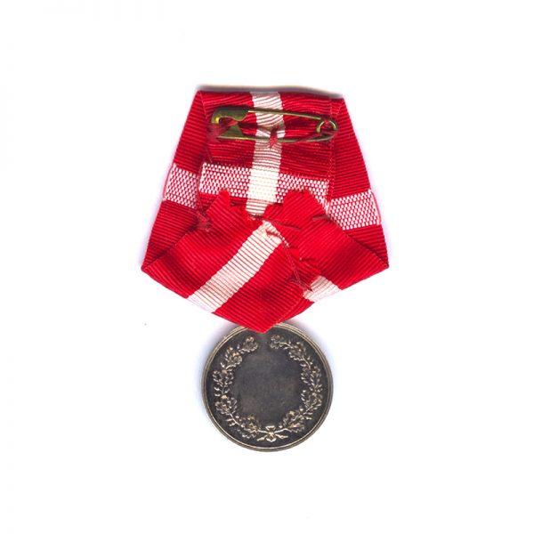 Medal of Recompense Frederick IX   silver (L28228)  N.E.F. £75 2