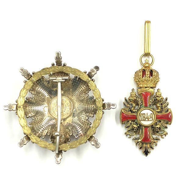 Order of Franz Joseph Commander  breast star 2