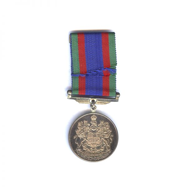 1939-45 Volunteers medal with overseas bar both  silver (L28231)  N.E.F. £55 2