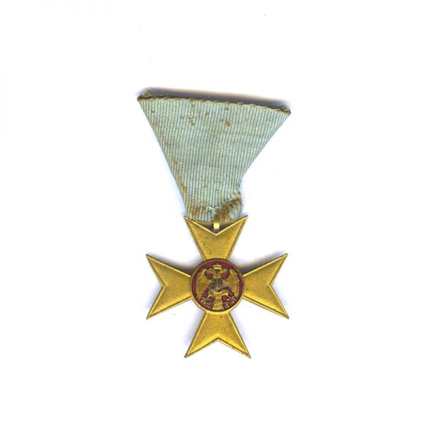 Gold Cross of Charity or Mercy 1912(L28237)  G.V.F. £95 1