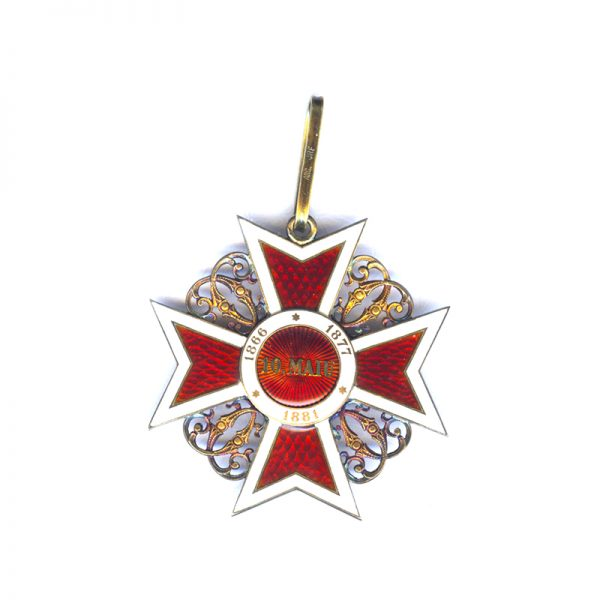 Order of the Crown 1st type Commander neck badge 2