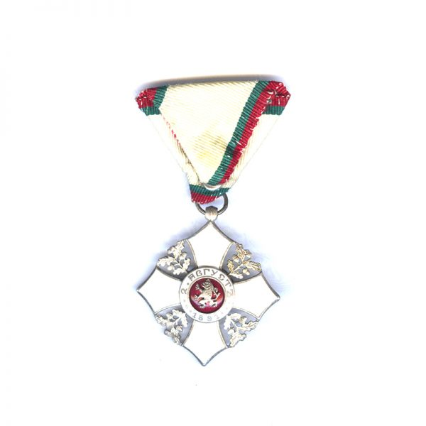 Order of Civil Merit 5th class silver and enamel	(L28245)  N.E.F. £85 2