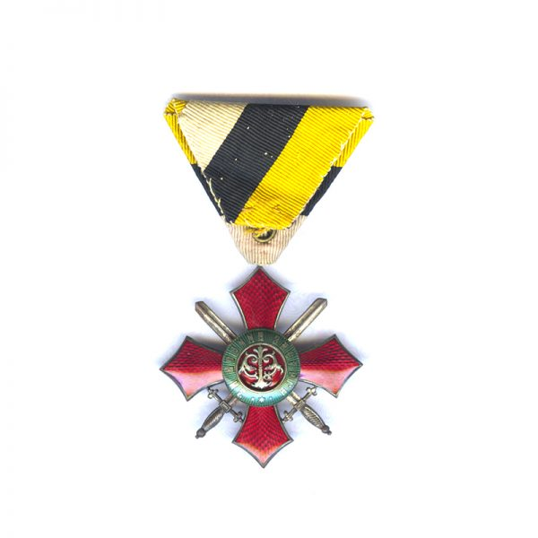 Order of Military Merit 1891 4th Class no Crown 	(L28258)  N.E.F. £120 2